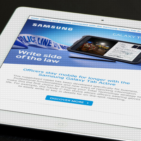 Samsung Tablet Campaign