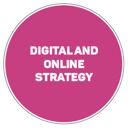 Digital and online strategy
